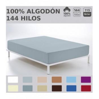 Bajera ajustable COMBI LISOS. 100% algodón 144 hilos TTC