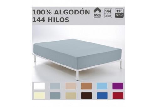 Bajera ajustable COMBI LISOS. 100% algodón (144 hilos). Es-Tela