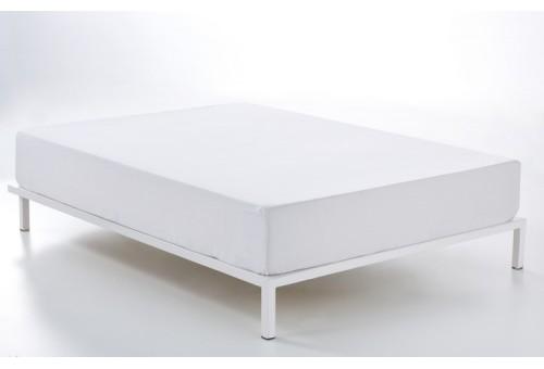 Bajera ajustable COMBI LISOS. 100% algodón (144 hilos). Es-Tela 001-BLANCO