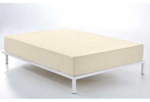 Bajera ajustable COMBI LISOS. 100% algodón (144 hilos). Es-Tela 021-CREMA