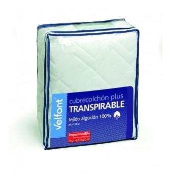 Cubrecolchón Impermeable y transpirable 100% algodón | Velfont
