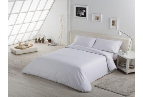 Funda nórdica COMBI LISOS. 100% algodón (144 hilos) 001-BLANCO