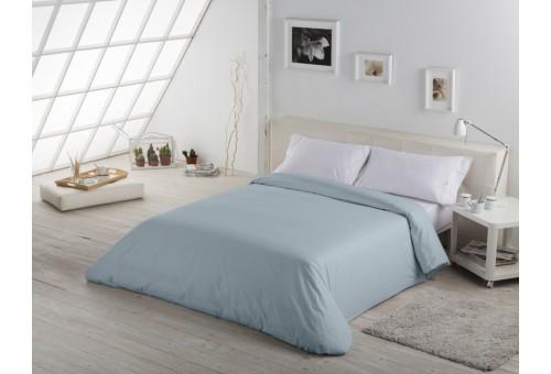 Funda nórdica COMBI LISOS. 100% algodón (144 hilos) 256-PLATA