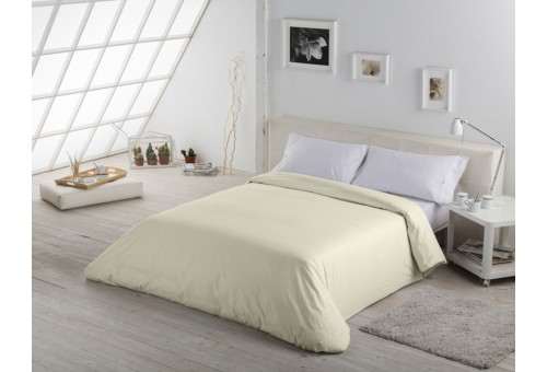 Funda nórdica COMBI LISOS. 100% algodón (200 hilos) 255-MARFIL