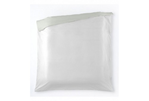 Funda nórdica algodón Liso bicolor. Es-Tela 317-BLANCO-HUESO
