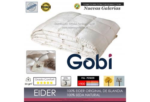 Ferdown Eider Down Duvet 900 CUIN 80 grs| Ferdown - 1 Relleno NordicoExclusivo 100% Eider| Gobi80grs/m2 confecciónKASSETTEN