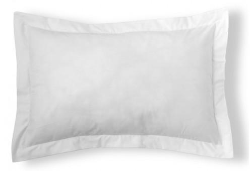 Funda cojín algodón Combi Liso 200 Hilos 001-BLANCO