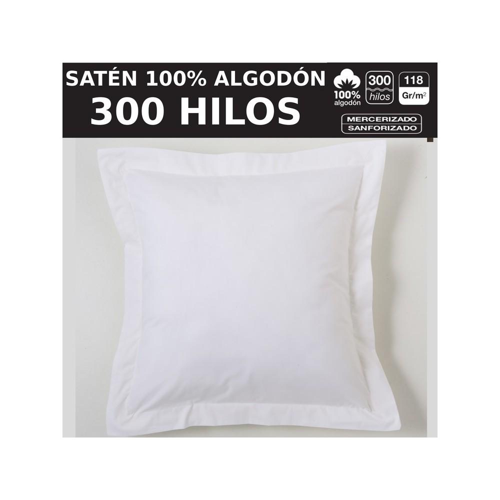 Fundas Almohadas y Cojines 200 HILOS 100% Algodón de Es