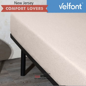 lenzuolo con angoli Velfont | New Jersey Nordic Beige