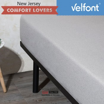 Velfont Fitted Sheet | New Jersey Gris Zen