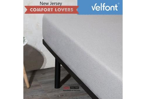 lenzuolo con angoli Velfont | New Jersey Gris Zen