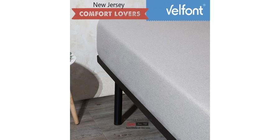 Velfont Fitted Sheet | New Jersey Gris Zen