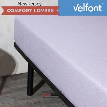 lenzuolo con angoli Velfont | New Jersey Soft Lavanda