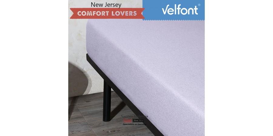 Velfont Fitted Sheet | New Jersey Soft Lavanda