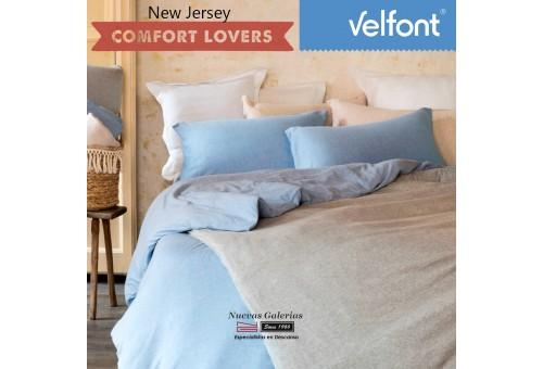 Copripiumino Velfont   New Jersey Nordic Beige