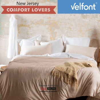 Velfont Duvet Cover | New Jersey Nordic Beige
