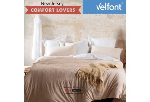 Velfont Bettdeckenbezug | New Jersey Nordic Beige