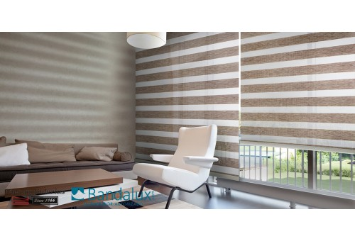 Roller Neolux® night & day roller shades | Bandalux