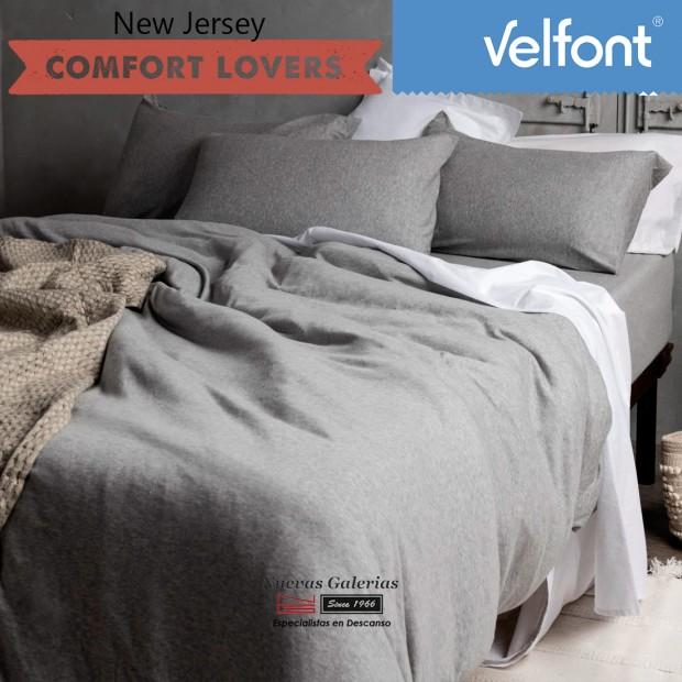 Copripiumino Velfont | New Jersey Nordic Gris Zen