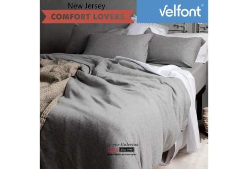 Housse de couette Velfont | New Jersey Nordic Gris Zen
