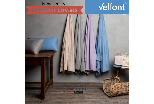 Copripiumino Velfont | New Jersey Soft Lavanda