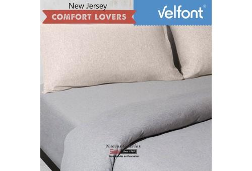 Taie d´Oreiller Velfont | New Jersey Nordic Beige