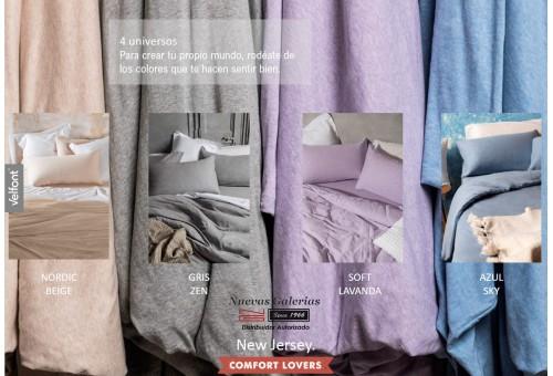 Velfont Pillowcase | New Jersey Gris Zen