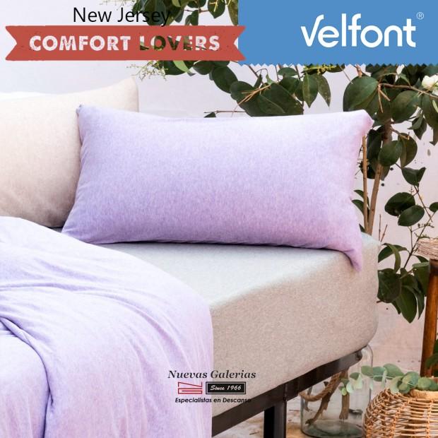 Taie d´Oreiller Velfont | New Jersey Soft Lavanda
