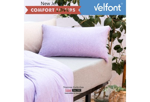 Copriguanciale Velfont | New Jersey Soft Lavanda