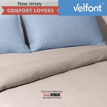 Velfont Pillowcase | New Jersey Azul Sky
