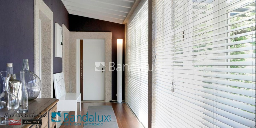 Wooden venetian blind 50mm | Bandalux