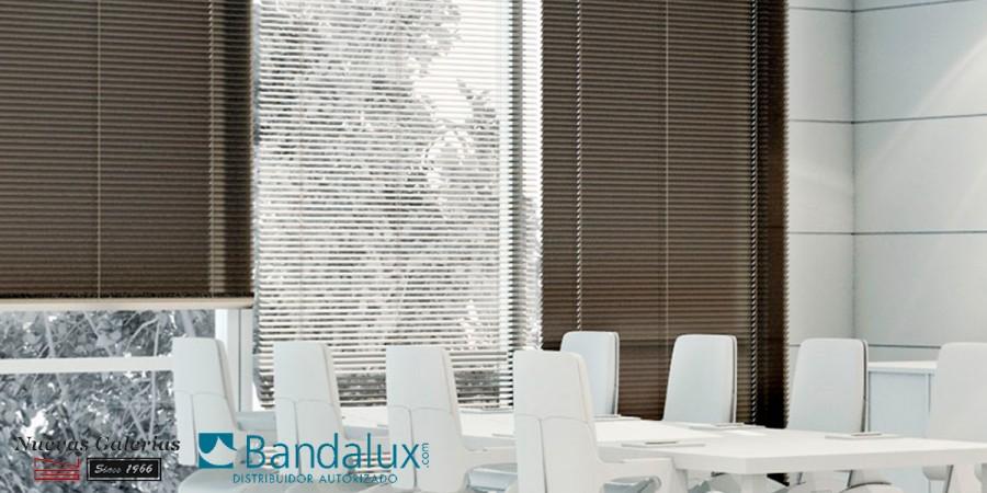 Store Vénitien motorisé Bois 50mm | Bandalux