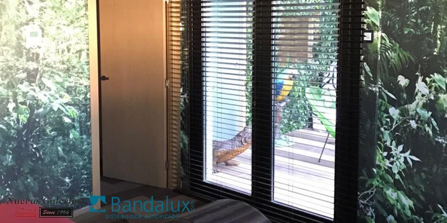 Veneziana motorizzata di legno 50mm | Bandalux