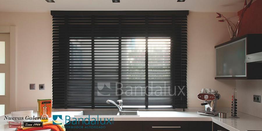 Veneziana di legno con nastro 50mm | Bandalux