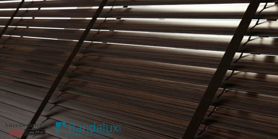 Wooden venetian blind with tape 50mm | Bandalux