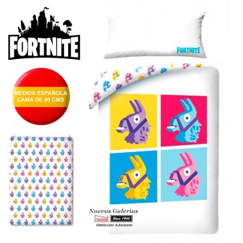 Funda Nordica Fortnite | FTN070BL 150x220