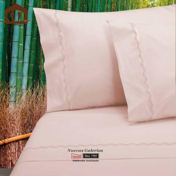 Completo Lenzuola Manterol | Bambu rosa - 300 fili