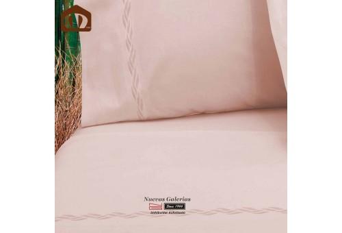 Ensemble de draps Manterol | Bambou Rose 300 fils