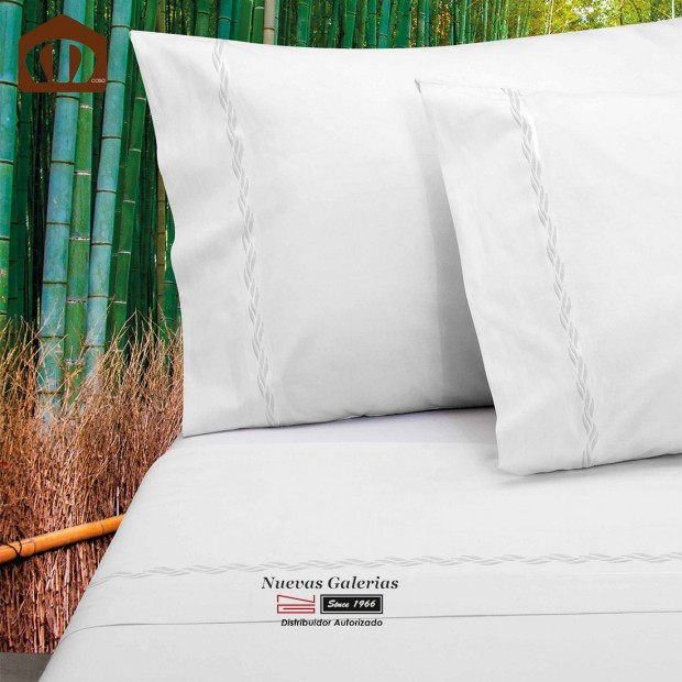 Manterol Sheet Set - Bamboo White 300 threads