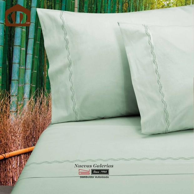 Manterol Sheet Set - Bamboo Green 300 threads