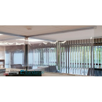 Roller Shade Bandalux covid-19 separator   PROTECT SHIELD