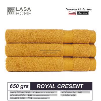 100% Baumwolle Handtuch Set 650 g / m² Gelb Honig | Royal Cresent