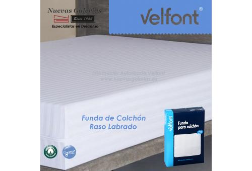 Coprimaterasso completamente chiuso Satin Stripe Coutie | Velfont