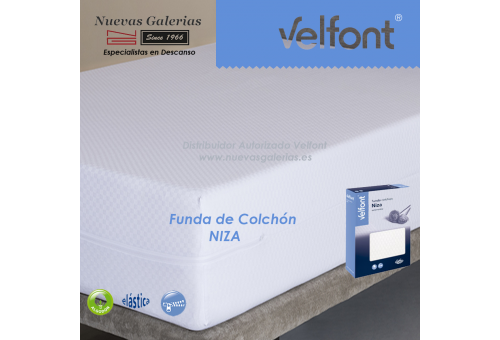 Velfont Matratzenbezug 100% elastischer Baumwolle | Niza
