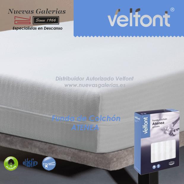 Rénove-matelas Atenea avec tissu en coton élastique | Velfont