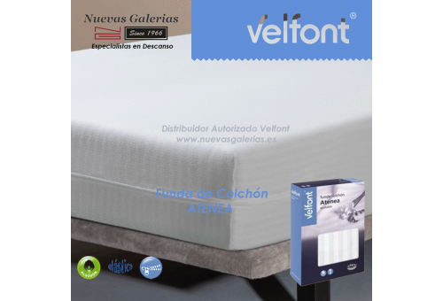 Atenea fully enclosed mattress cover | Velfont