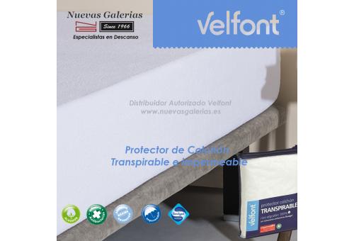 Coprimaterasso in cotone impermeabile e traspirante | Velfont