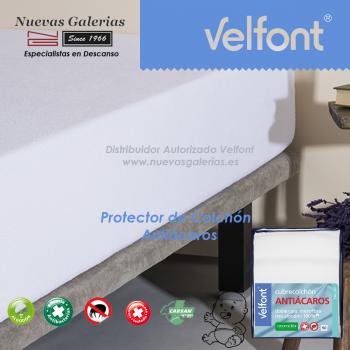 Velfont Anti-Milben Krippe Matratzenschoner Atmungsaktiv | Acarsan