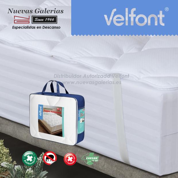 Velfont Anti-Milben Matratzenauflagen Topper | Acarsan
