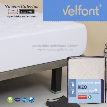 Velfont Gesteppter Matratzenschutz Wasserdicht | Pad Rizo